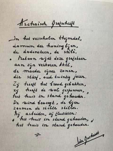 handschrift Ida