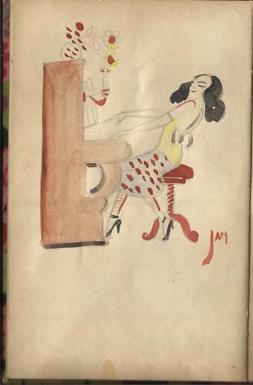 Uit idas poesiealbum ca 1925