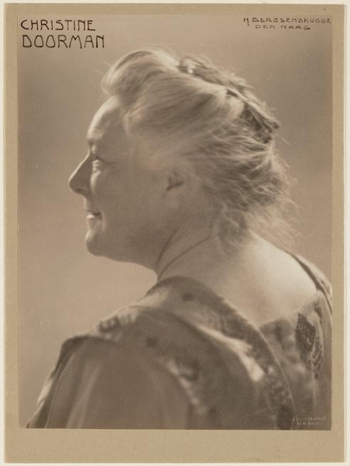 Dames In Data Christine Doorman 1928 Mdnl De